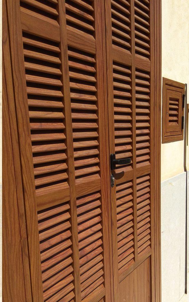 persiana 2 hojas entrada